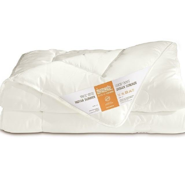 DORMIENTE® INDIAN SUMMER NATUR-Bettdecke